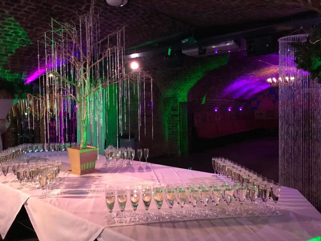 Ivory Vaults London Corporate Event Reception Christmas Party for Special Venues