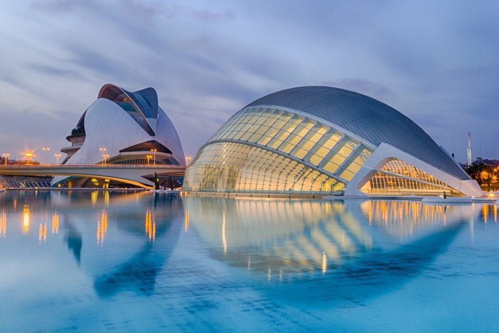 Beautiful and biggest Aquarium of Europe in Valencia