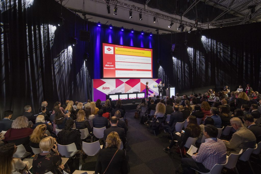 ibtm world barcelona 2018 event incentive corporate sustainability technology meetings conference