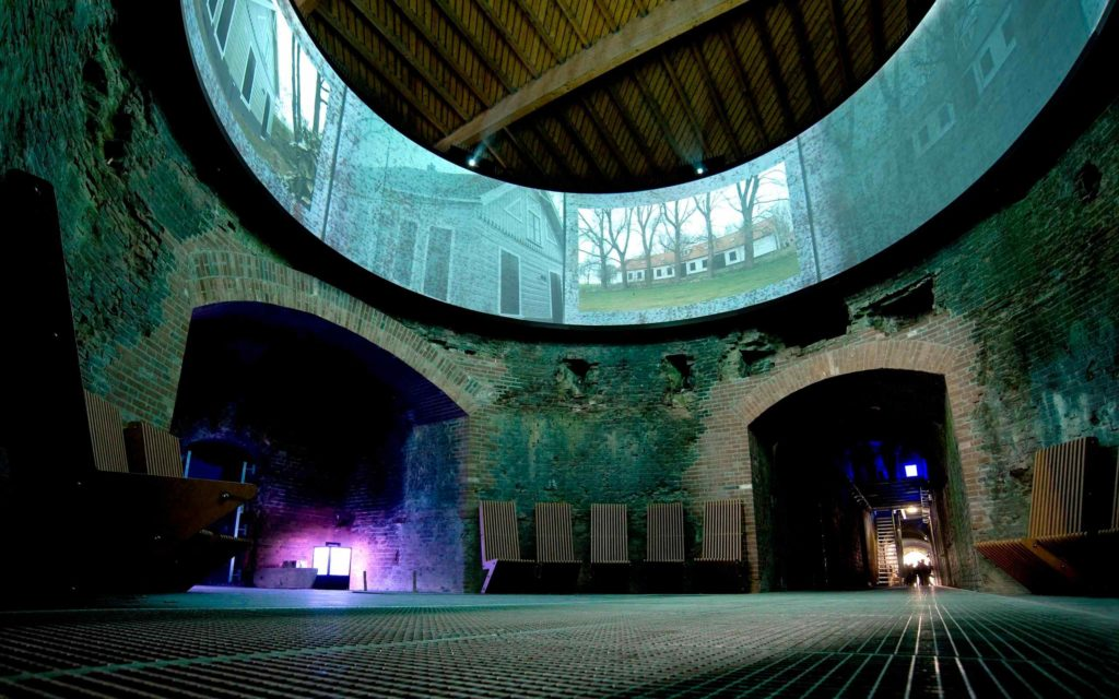 Fort Pampus Island interior must see corporate event location venue special night great lights