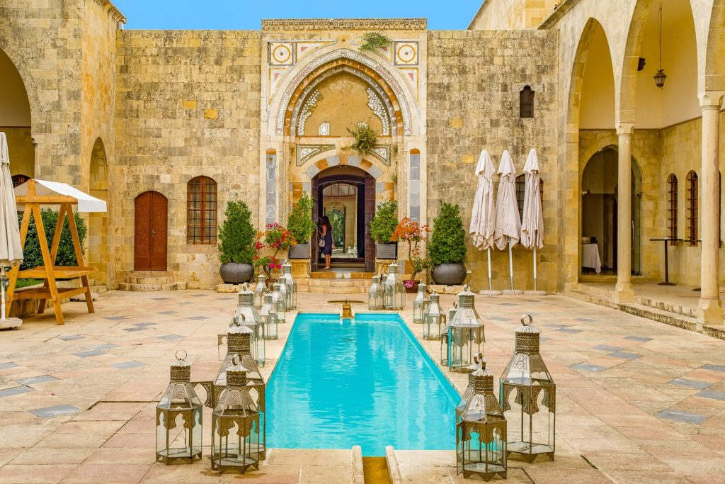 lebanon beirut landscape incentive company trip event agency church palace
