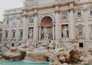 Trevi Fountain monument rome italy event destination